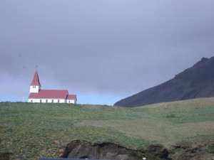 A hillside church in Reykjavik. Photo credit: APU faculty, Kurt Messick.