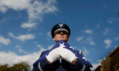 Veterans Group Honors Homeless Vets With Funeral And Burial